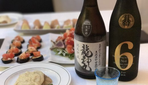 入手困難!【龍神丸】純米吟醸生原酒を開栓しました!