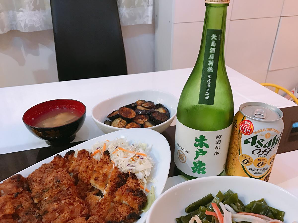 家飲み 20180601 木戸泉 アサヒオフ