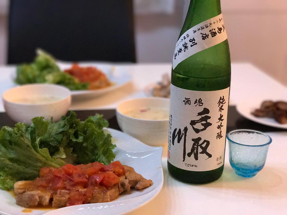 家飲み 20190606 手取川