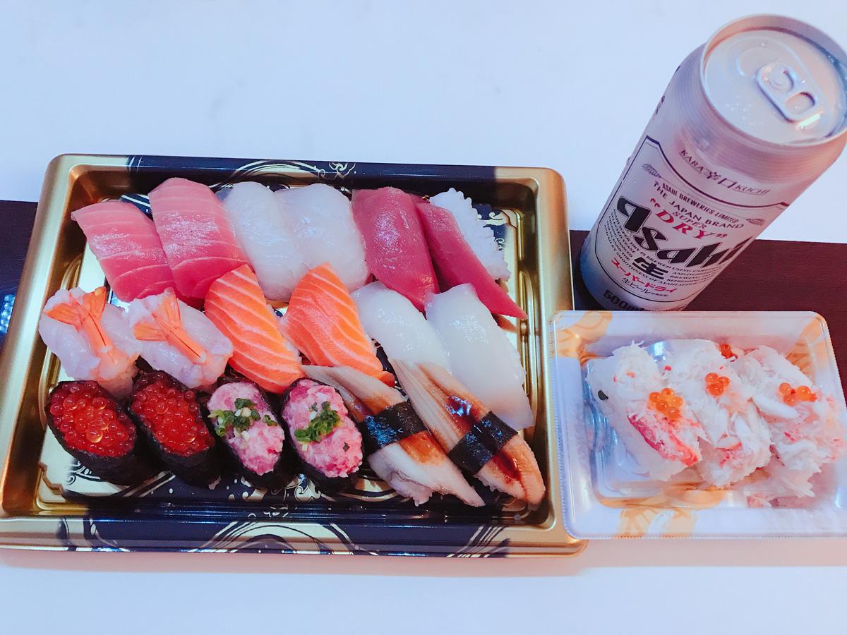 家飲み 20191007 お寿司