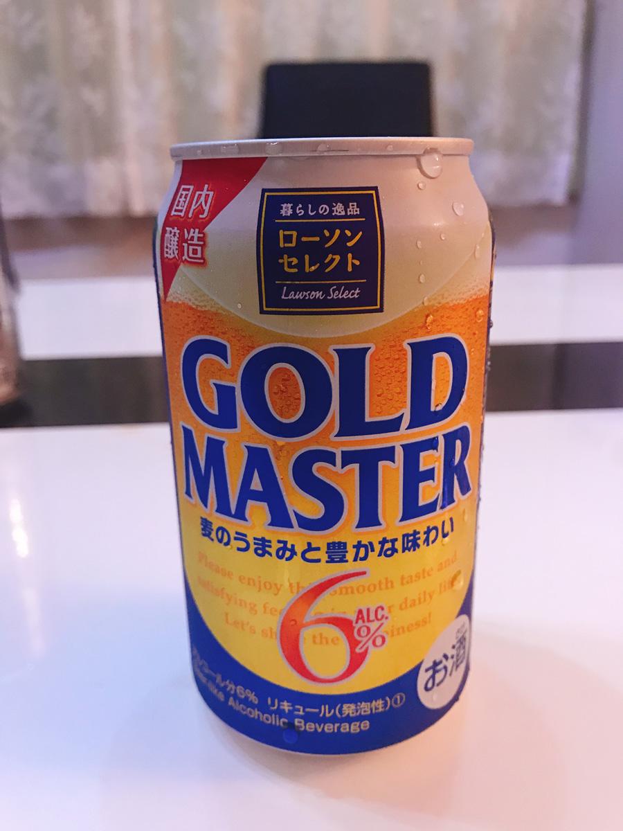 家飲み20180803 ゴールドマスター