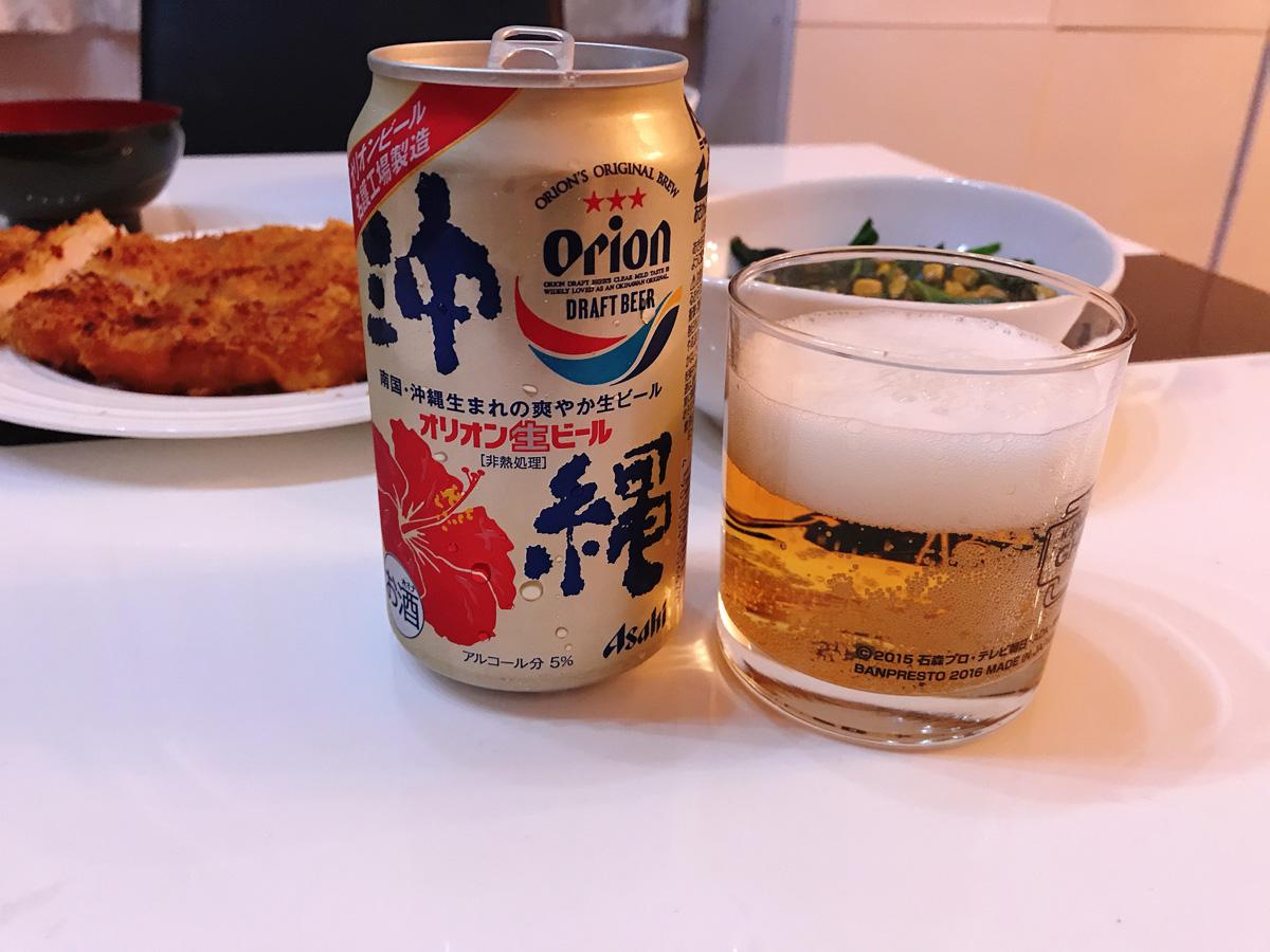 家飲み 20181025 オリオンビール